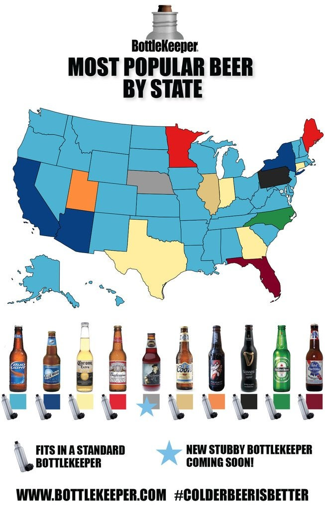 Most Popular Beer in Each State