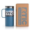 16oz Travel Mug, Slate Blue, Matte Thumnail