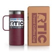 16oz Travel Mug, Maroon, Matte Thumnail