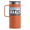 16oz Travel Mug, Burnt Orange, Matte Thumnail
