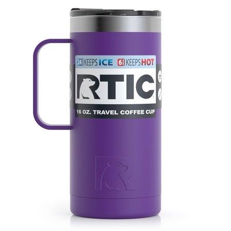 16oz Travel Mug, Majestic Purple, Matte Image