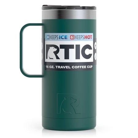 16oz Travel Mug, Forest Green, Matte Image