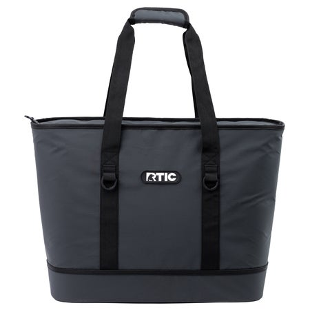 Day Cooler Insulated Tote Bag, Black