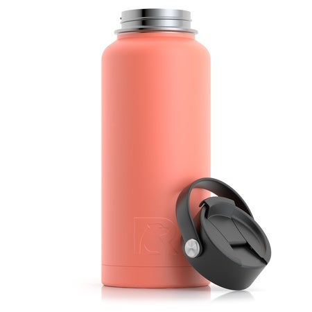 32oz Bottle, Coral, Matte Image