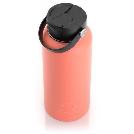 32oz Bottle, Coral, Matte, Case of 20 Image
