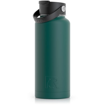 32oz Bottle, Forest Green, Matte Image