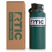32oz Bottle, Forest Green, Matte Thumnail