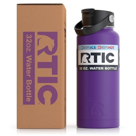 32oz Bottle, Majestic Purple, Matte Image