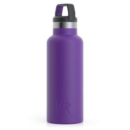 16oz Water Bottle, Majestic Purple, Matte Image