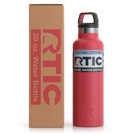20oz Water Bottle, Brick, Matte Image