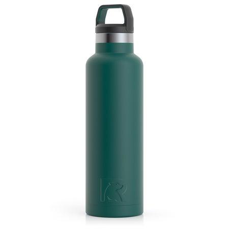 20oz Water Bottle, Forest Green, Matte Image