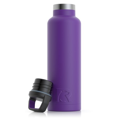 20oz Water Bottle, Majestic Purple, Matte Image