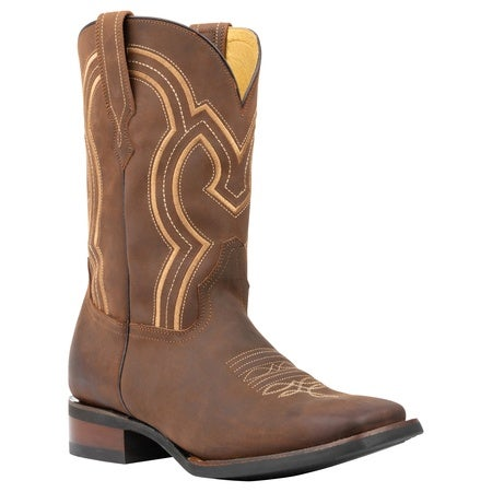 The Vincent, Crazy Brown, 11D Mens Boot, Honeycomb Technology Image