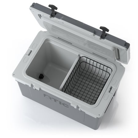 RTIC 52 Quart Ultra-Light Hard Cooler, Dark Grey & Cool Grey Image