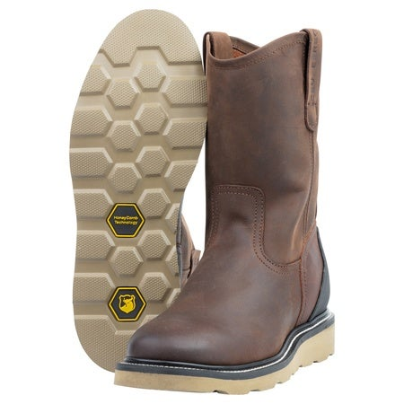 The Mason, Crazy Brown, 15EE Mens Boot Image