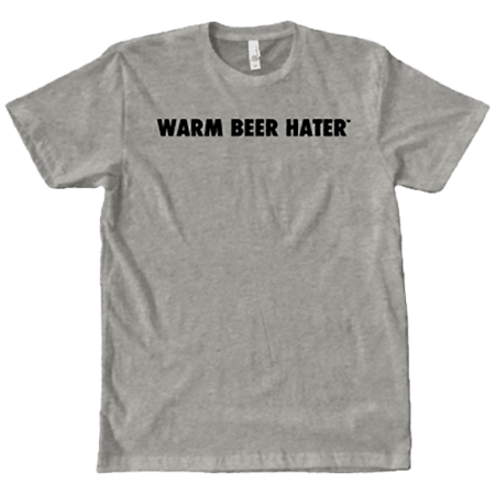 Warm Beer Hater Shirt
