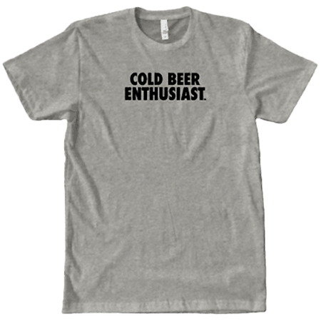 Cold Beer Enthusiast Shirt