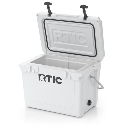 RTIC 20 Quart Hard Cooler, White Image