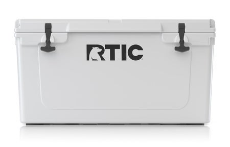 RTIC 65 Quart Hard Cooler, White