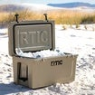 RTIC 65 Quart Hard Cooler, White Thumnail