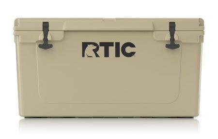 RTIC 65 Quart Hard Cooler, Tan Image
