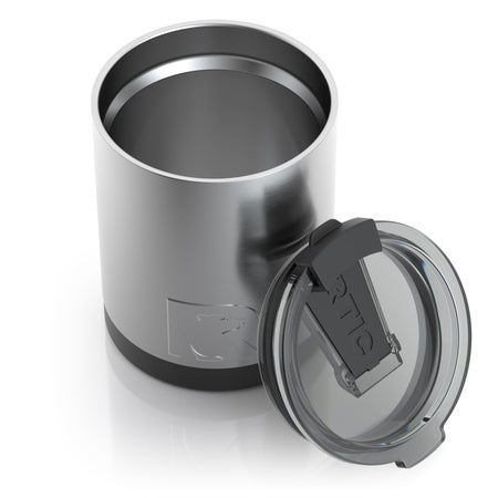12oz Lowball Tumbler, Stainless, Glossy Image