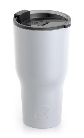 White 30 oz. RTIC Tumbler