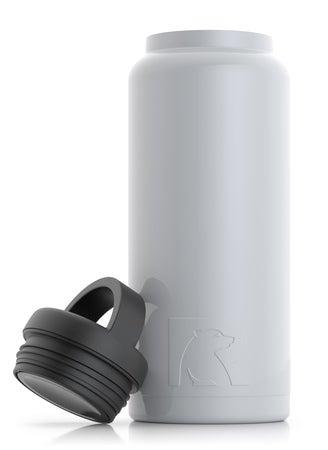 36oz Bottle, White, Glossy Image