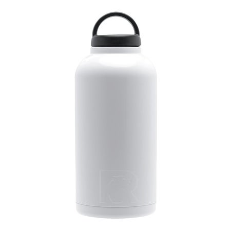 White 64 oz. RTIC Bottle - Case of 16