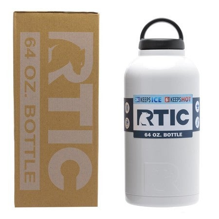 f241241608c Shop 64oz Bottle, White, Glossy