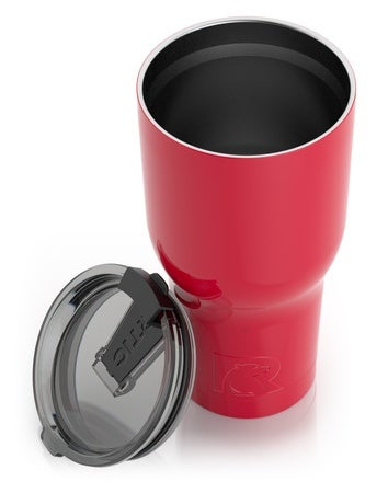 30oz Tumbler, Red Image
