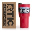 30oz Tumbler, Red, Glossy Thumnail