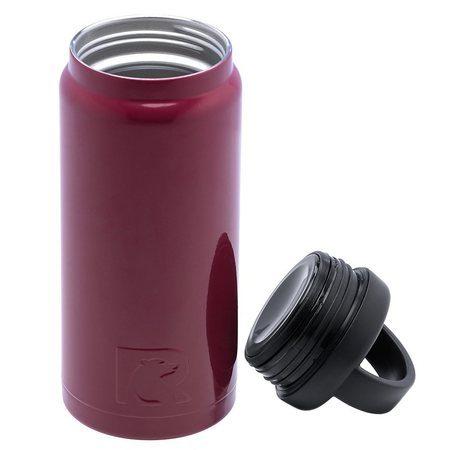 18oz Bottle, Maroon, Glossy Image