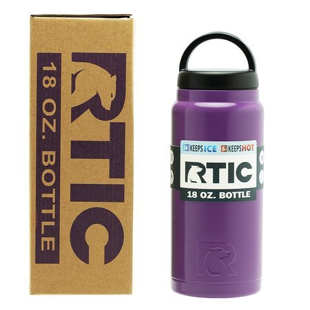 18oz Bottle, Purple, Glossy Image