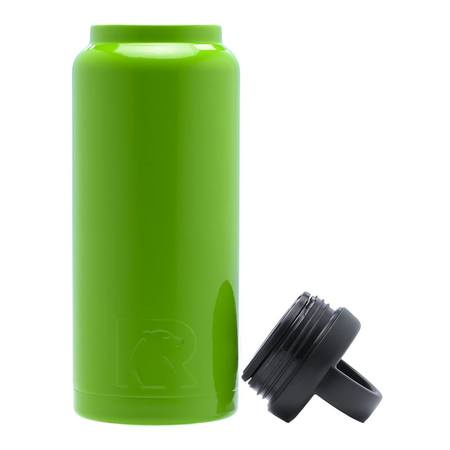 36oz Bottle, Lime Green, Glossy Image