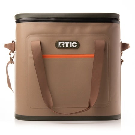Soft Pack 40 Can Cooler, Tan Image
