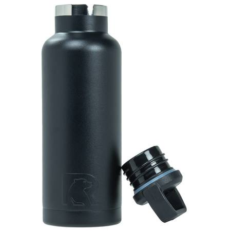 16oz Water Bottle, Charcoal, Matte Image
