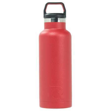 16oz Water Bottle, Cardinal, Glossy Image