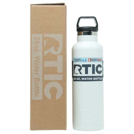 20oz Water Bottle, Chalk, Matte Image
