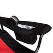 Folding Chair, Red & Black Thumnail