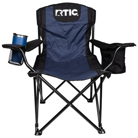 Folding Chair, Navy & Black Image