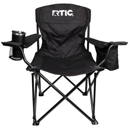 Folding Chair, Black Image