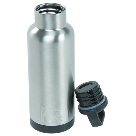 16oz Water Bottle, Stainless, Glossy Image