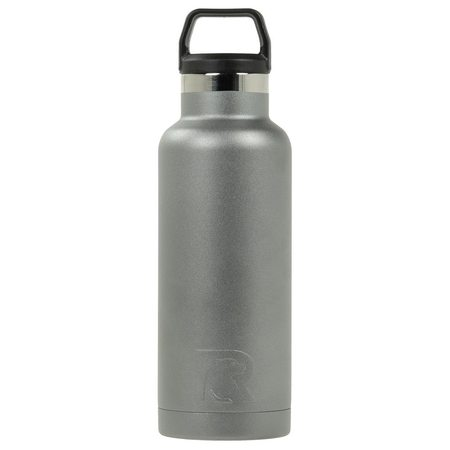 16oz Water Bottle, Graphite, Matte Image