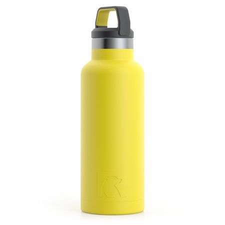 16oz Water Bottle, Sunflower, Matte Image