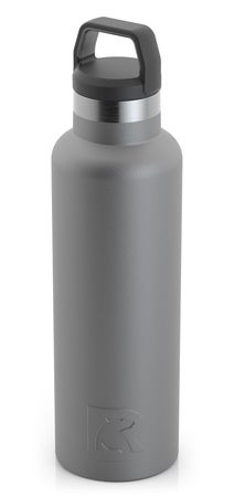 20oz Water Bottle, Graphite, Matte Image