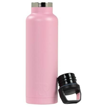 20oz Water Bottle, Flamingo, Matte Image