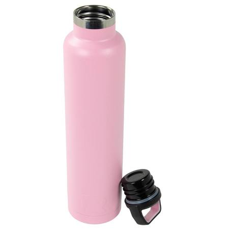 26oz Water Bottle, Flamingo, Matte Image