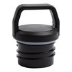 Water Bottle Lid, Screw Top, Black Thumnail