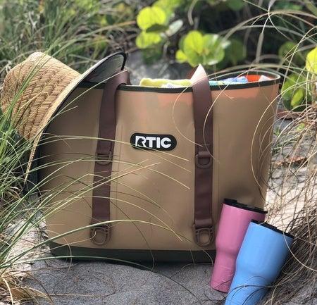 Large Tote Bag, Tan Image